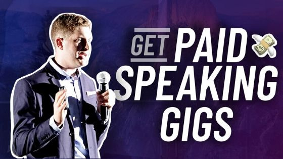 Get Paid Speaking Gigs